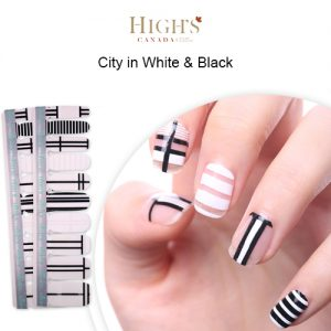 HNPP47 City in White & Black