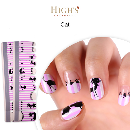 Nail Polish Strips, Exclusive Design, Cat – Highs Canada