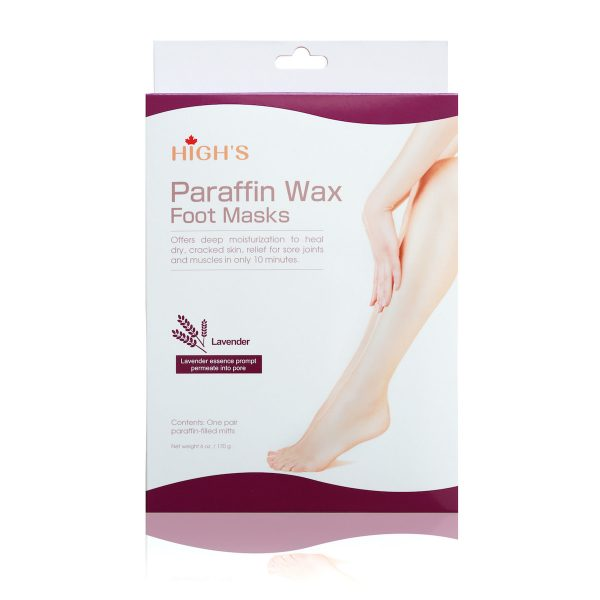 Paraffin Wax Foot Maks- Lavender