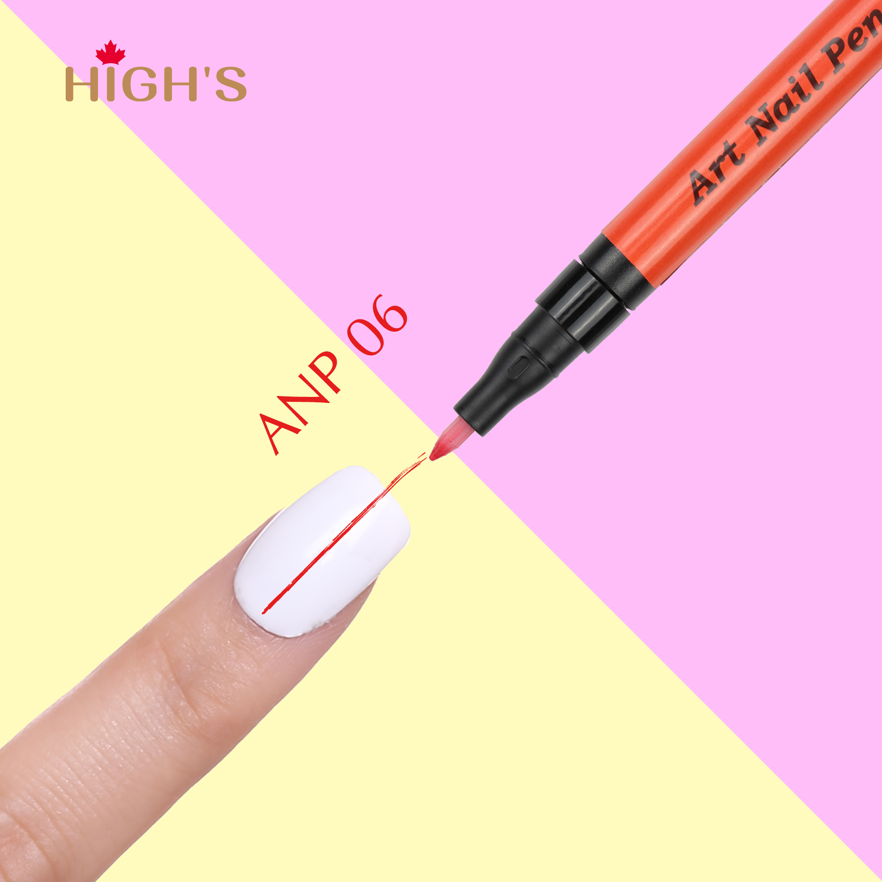 HIGH\'S Art Nail Pen, ANP06 – Highs Canada