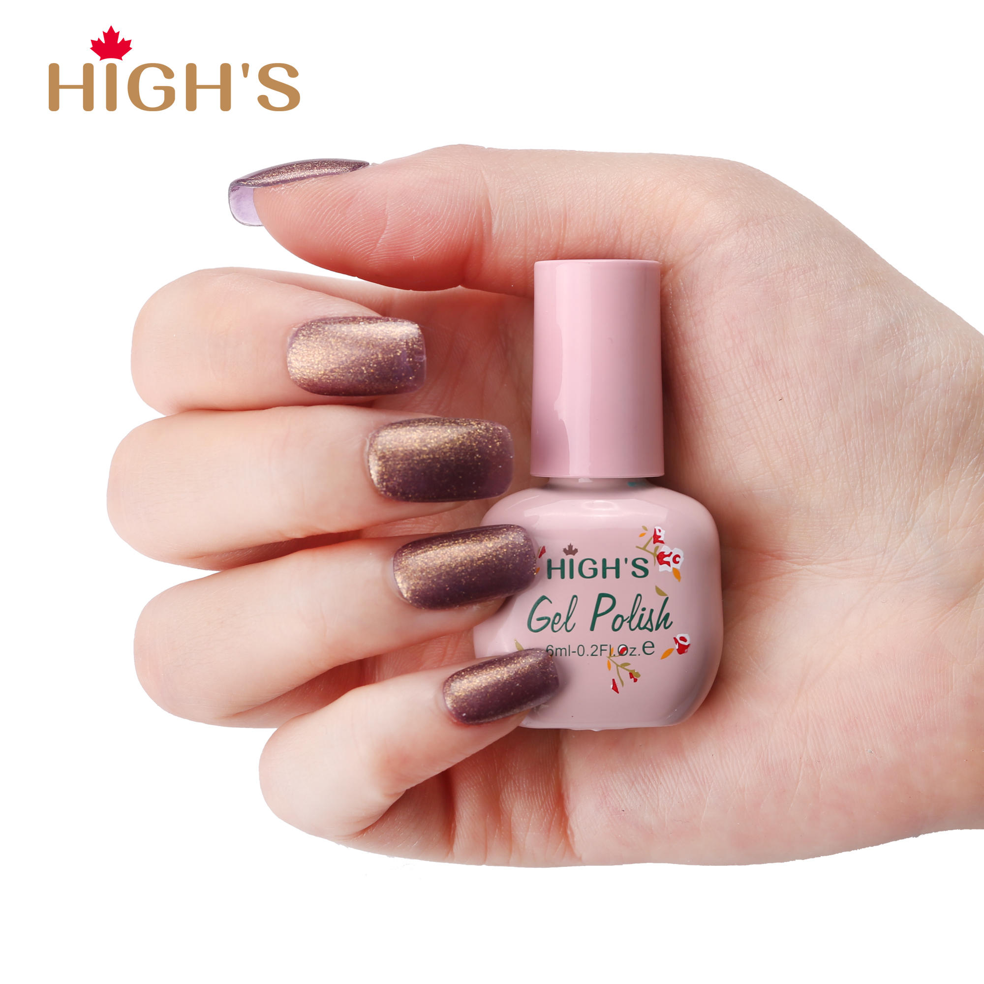 HIGH\'S Peel Off Gel Nail Polish, Magic Words – Highs Canada