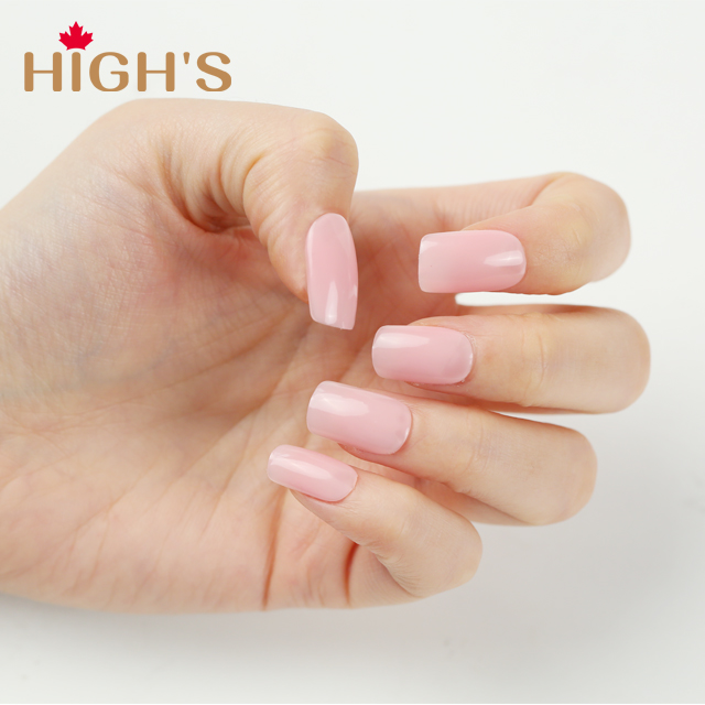 HIGH\'S One Step Gel Nail Polish, Jelly Pink – Highs Canada