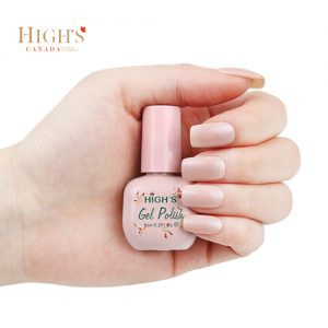 bottle of extra nude gel polish