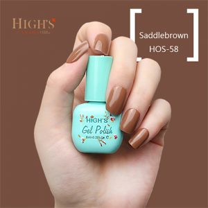 saddle brown nail polish